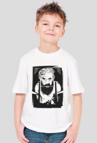 Koszulka dziecięca brodaty