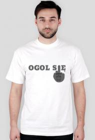Koszulka ogol się by brodatystyl.pl