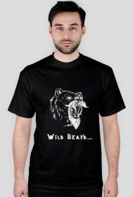Koszulka czarna The Bushy Beard misiek