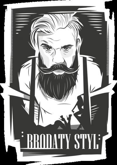 Bluza czarna brodaty styl by brodatystyl.pl