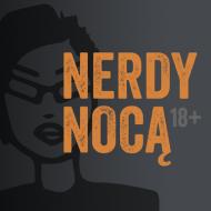 nerdy nocą podkładka