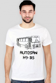 Koszulka slim Autosan H9-35