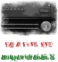 Koszulka dziecięca czarna Made in Hungary