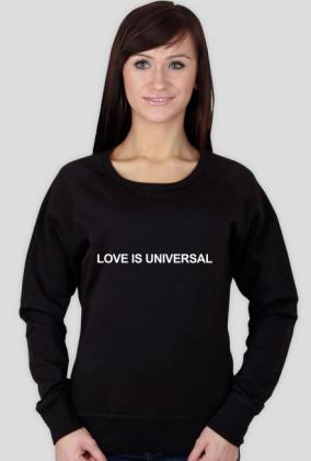 LOVE IS UNIVERSAL (bluza damska)