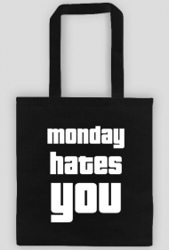 Torba na ramię Monday Hates You
