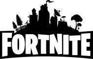 Fortnite Logo Koszulka Czarna