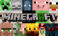 Minecraft Koszulka Dziecięca LOGO 2