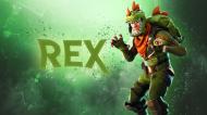 Fortnite koszulka dziecięca REX