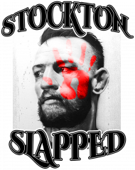 Diaz Stockton Slapped Conor McGregor Black T-shirt MMA