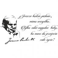 Kalendarz z mottem Jana Pawła II