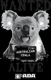 Koszulka męska - Koala. Pada