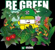 BE GREEN PLANETA ZIEMIA. PADA