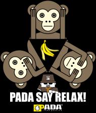 Małpa banan. Pada
