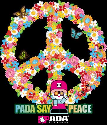 Pacyfka peace kwiaty. Pada