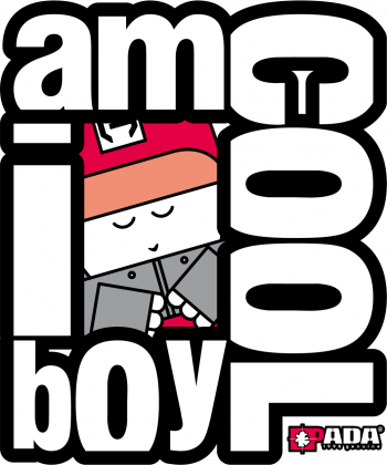 Super chłopak urodziny hip hop. Pada