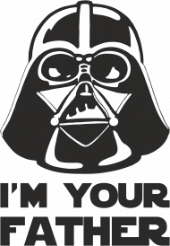 Koszulka męska I'M YOUR FATHER - Star Wars