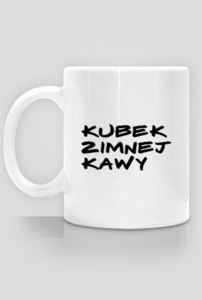 Kubek zimnej kawy - dla Mam