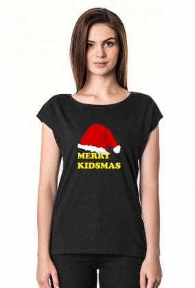 Koszulka damska z krótkim rękawem MERRY KIDSMAS