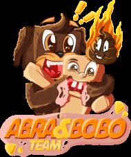 MĘSKI T-SHIRT - ABRA & BOBO