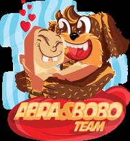 MÉSKI T-SHIRT - ABRA & BOBO TEAM