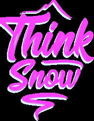 Think snow bluza męska z kapturem (różne kolory!)