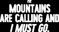 Mountains Are Calling - Bokserka damska (różne kolory!) (Różne kolory!)
