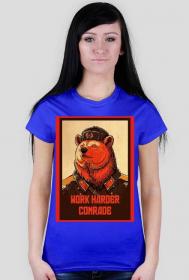 Work harder comrade