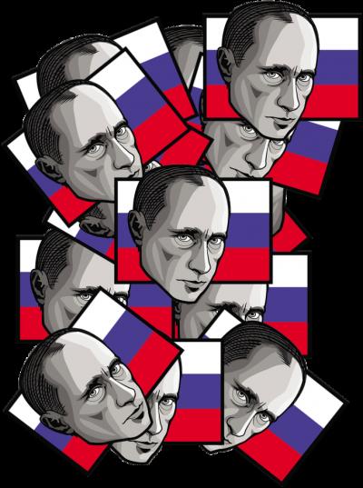 50 Twarzy Putina - Damska
