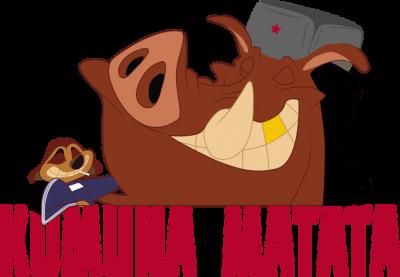 Komuna Matata - Męski Tank