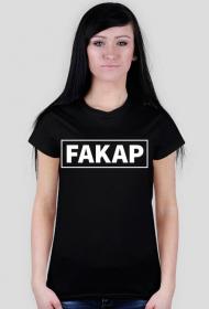 Koszulka Fakap czarna