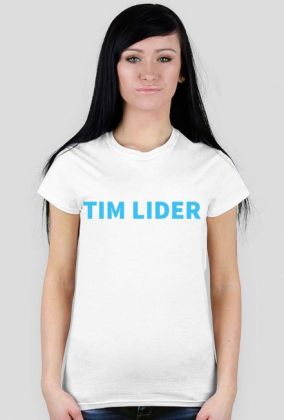 Koszulka Tim Lider biała