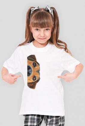 Koszulka dziewczęca - Pies
