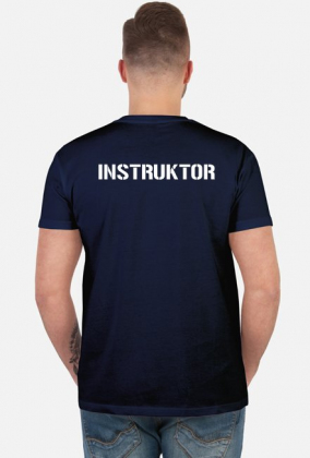 Koszulka męska - Instruktor