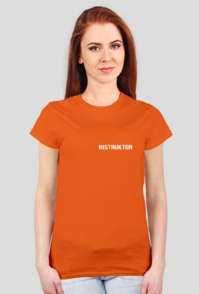 Koszulka damska - Instruktor
