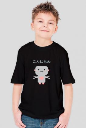 Hello Roboto 2 - Koszulka z japonskim napisem
