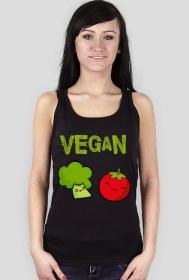 Vegan - brokułek i pomidor