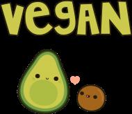 Vegan - awokado