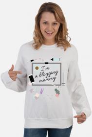 Blogging mommy - bluza