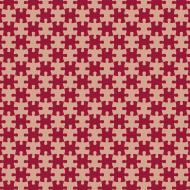 Maseczka z puzzlami - czerwona