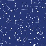 Maseczka w gwiazdy - niebieska