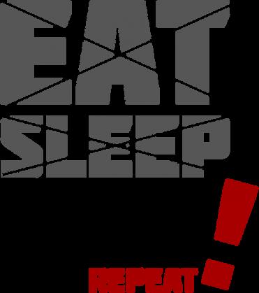 Poduszka - Eat, sleep, code, repeat - śmieszne gadżety dla informatyków - dziwneumniedziala.com