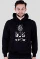 Bluza - It's not a bug - dziwneumniedziala.com - koszulki dla informatyków