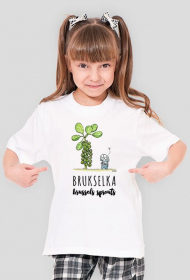 Brukselkowy T-shirt dla Małych Ludzi