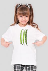 Fasolkowy T-shirt dla Małych Ludzi