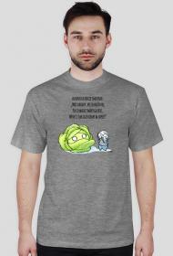 Kapuściany T-shirt