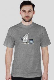 Atramentowy T-shirt