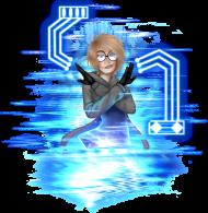 HackerMan Elek (by Kitsune) - Damska