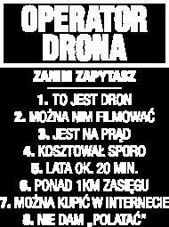 Koszulka Operatora DRONA / PILOT DRONA