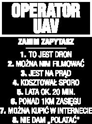 Koszulka Operatora UAV / PILOT UAV