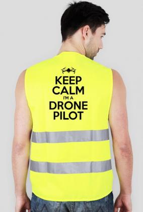 Kamizelka KEEP CALM I'M DRONE PILOT